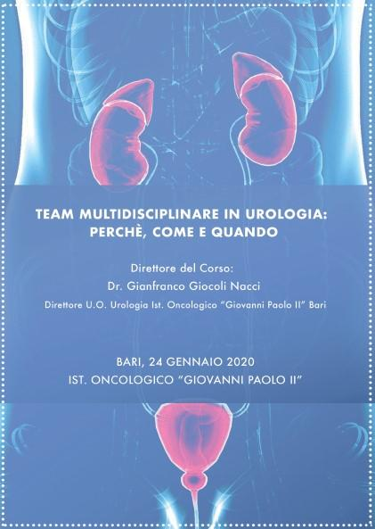 ClabMeeting - TEAM MULTIDISCIPLINARE IN UROLOGIA: PERCHE', COME E QUANDO