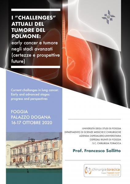"ClabMeeting - I ""challenges"" attuali del  Tumore del polmone"
