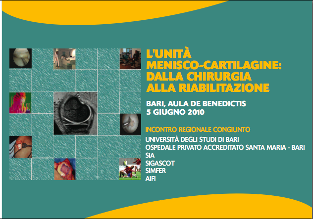 ClabMeeting - L'UNITA' MENISCO CARTILAGINE