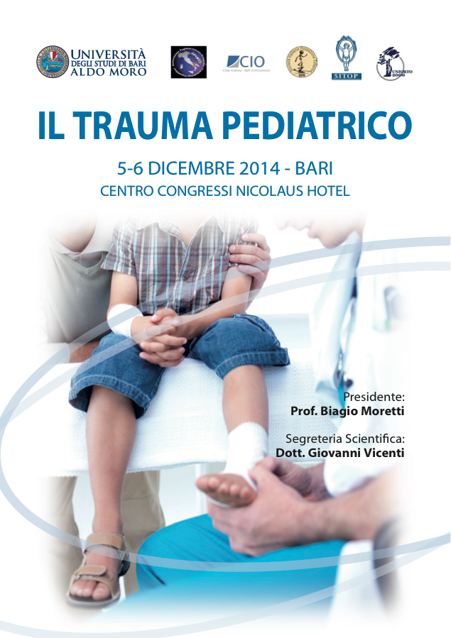 ClabMeeting - IL TRAUMA PEDIATRICO