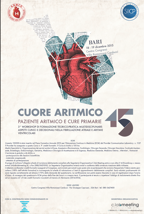 ClabMeeting - CUORE ARITMICO 2015