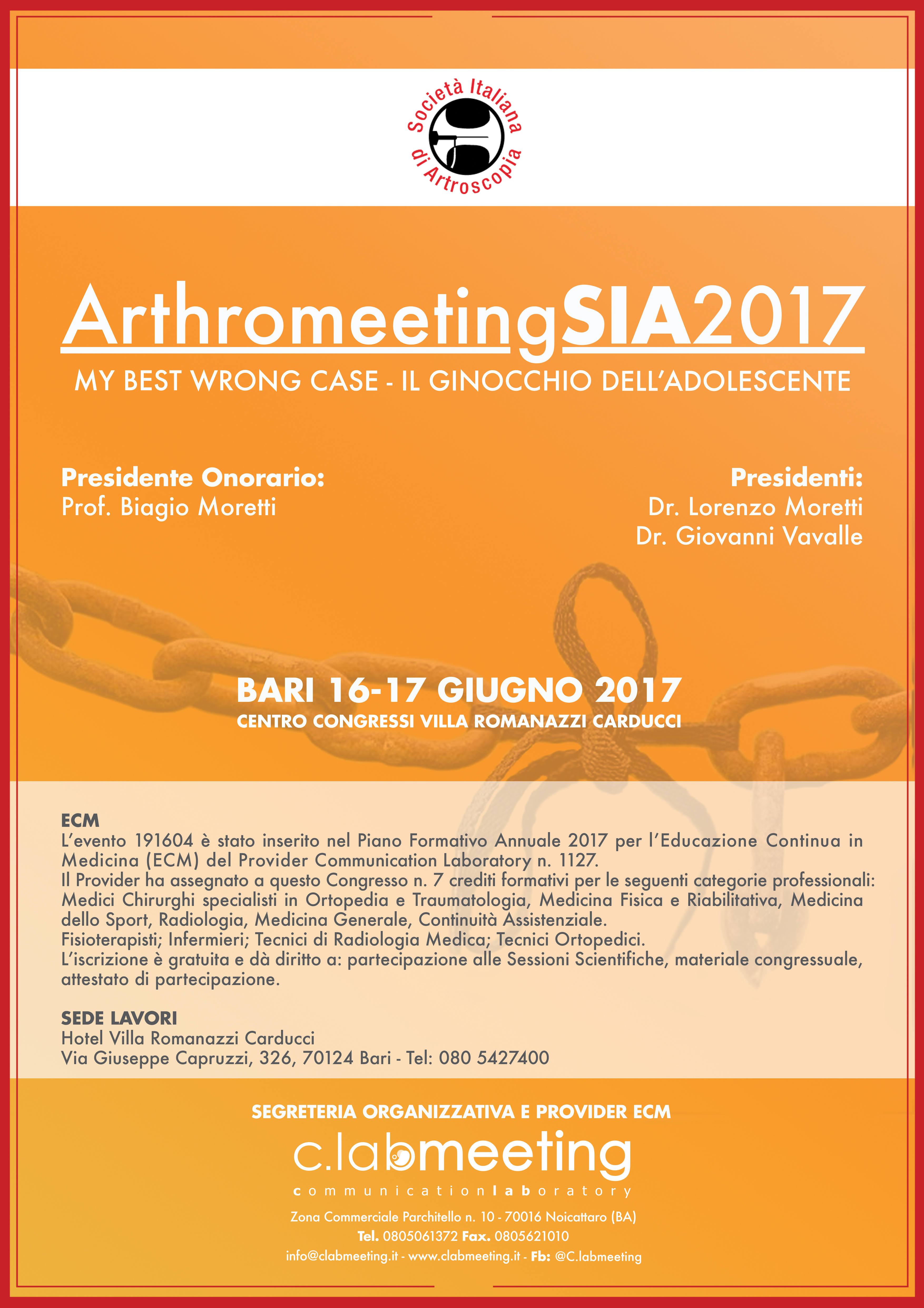 ClabMeeting - ARTHROMEETING 2017