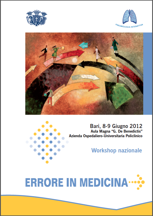 ClabMeeting - ERRORE IN MEDICINA 2012