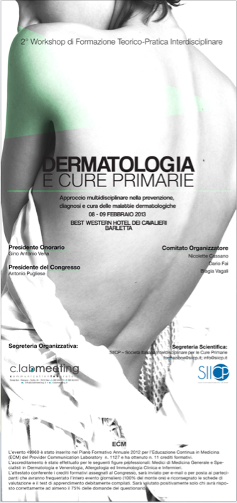 ClabMeeting - DERMATOLOGY FOR PRIMARY CARE